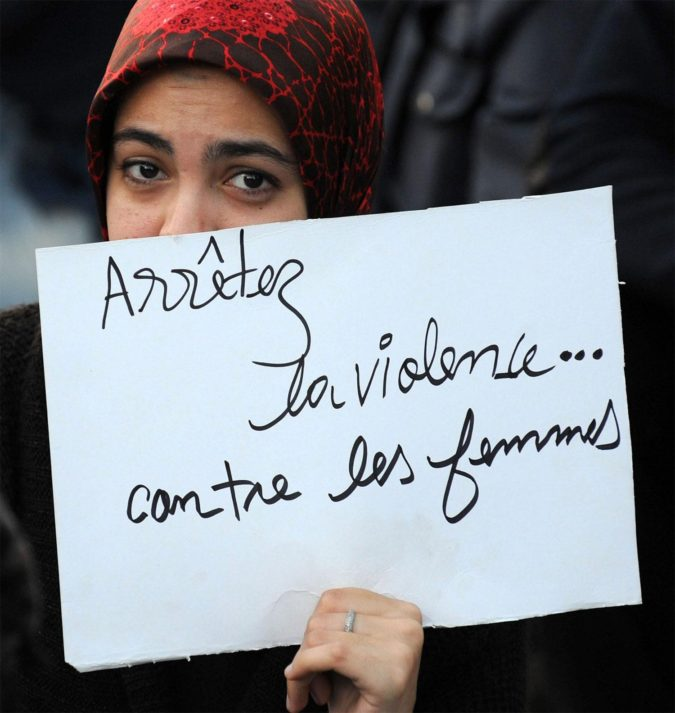 morocco-protesting-against-violence-against-women-675x713 Top 10 Most Dangerous Countries for Women in the World