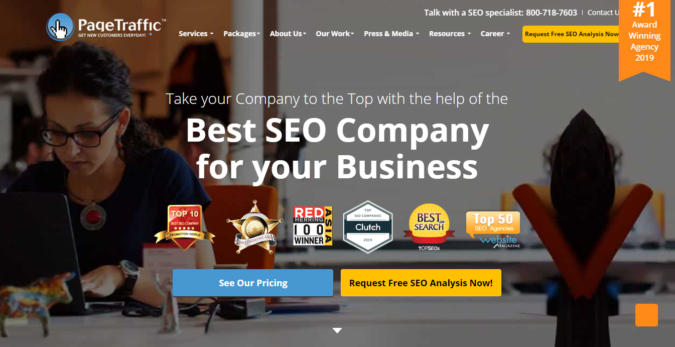 page-traffic-screenshot-675x347 Top 75 SEO Companies & Services in the World