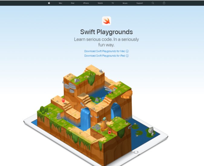swift-playgrounds-675x550 Top 50 Free Learning Websites for Kids in 2021