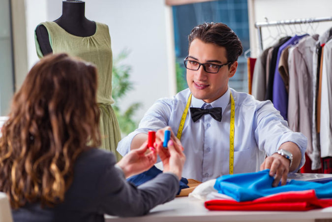 tailor-and-client-675x451 Getting an Outfit Custom Made: 5 Tips for Success