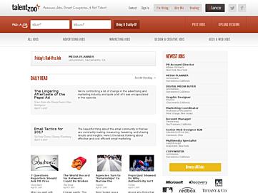 talentzoo-screenshot Best 50 Online Job Search Websites
