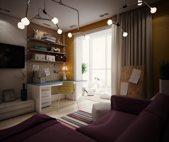 teen-room-ceiling-lamps-675x568 15 Hottest Ceiling Lamp Ideas for Teens' Bedrooms in 2021