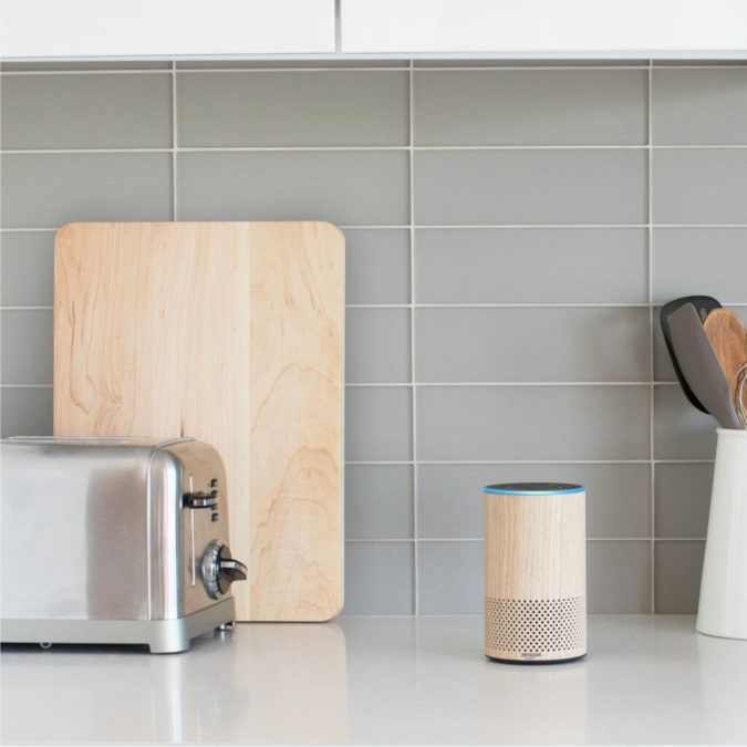 Alexa-Oak-Echo-Kitchen-Counter-675x675 Awesome Gifts for Those Who Love to Entertain