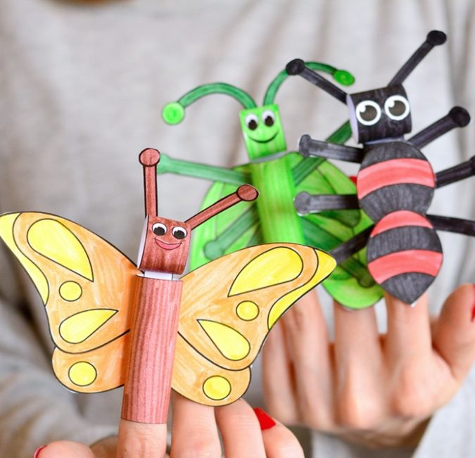 Bugs-Craft-675x651 18 Easiest Craft Ideas That You Can Create with Your Kids