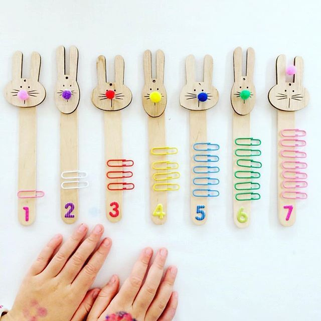 Counting-Stick-Craft. 18 Easiest Craft Ideas That You Can Create with Your Kids