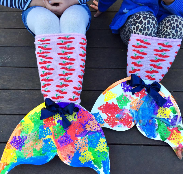 Crafty-Mermaid's-Tail 18 Easiest Craft Ideas That You Can Create with Your Kids