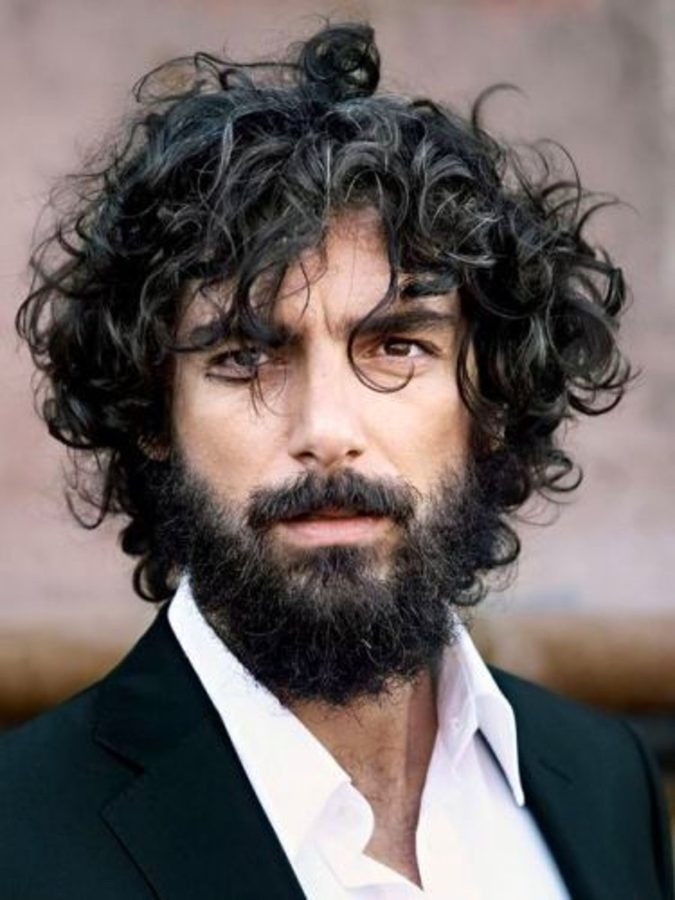 Curly-hair-and-beard-675x900 20 Most Trendy Men's Beard Styles for 2021