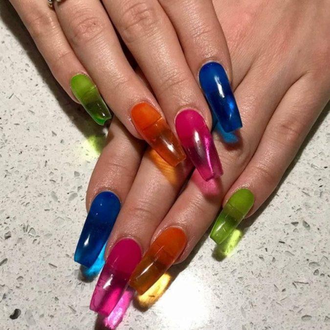 Jelly-Nails-675x675 20 Weirdest Nail Art Ideas That Should Not Exist