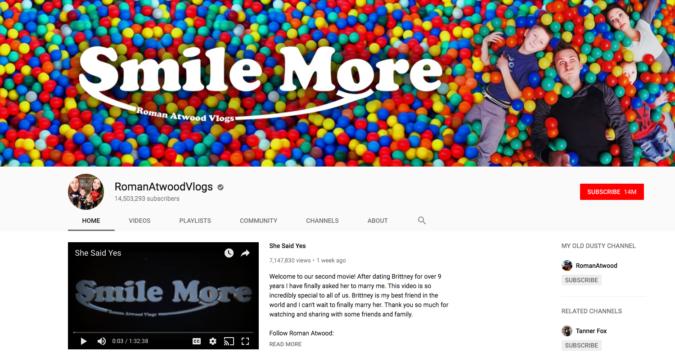 Roman-Atwood..-675x357 Top 20 Richest YouTubers in 2020