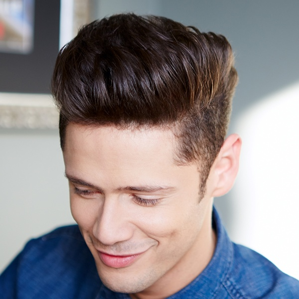 The-Cleanly-shaven-hairstyle 20 Most Trendy Men's Beard Styles for 2021