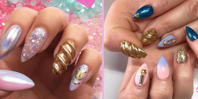 The-Unicorn-Horn-Nails.-675x338 20 Weirdest Nail Art Ideas That Should Not Exist