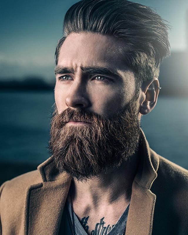 The-Warrior-beard-Style 20 Most Trendy Men's Beard Styles for 2020