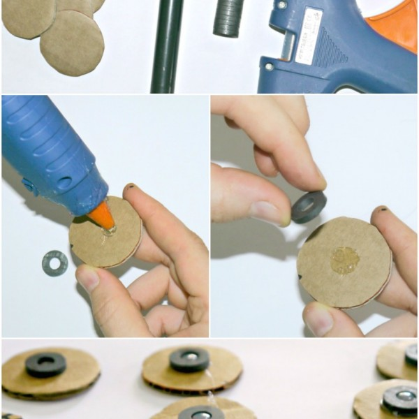 Tic-Tac-Toe-Magnetic-Cardboard 18 Easiest Craft Ideas That You Can Create with Your Kids