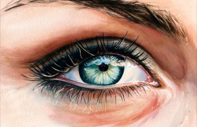 Watercolor-Eyes-675x436 15 Most Fabulous Makeup Trends to Be More Gorgeous in 2021