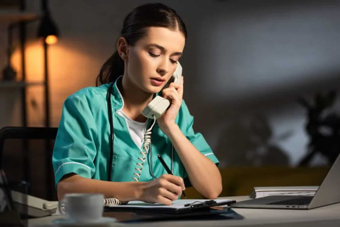 laptop-nurse-working-from-home-675x451 Top 20 Work from Home Opportunities during Pandemic Times