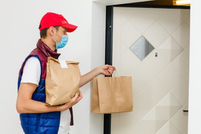 male-food-delivery-wearing-face-mask-675x450 Top 20 Work from Home Opportunities during Pandemic Times