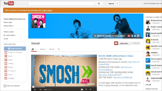smosh-youtube-675x380 Top 20 Richest YouTubers in 2021