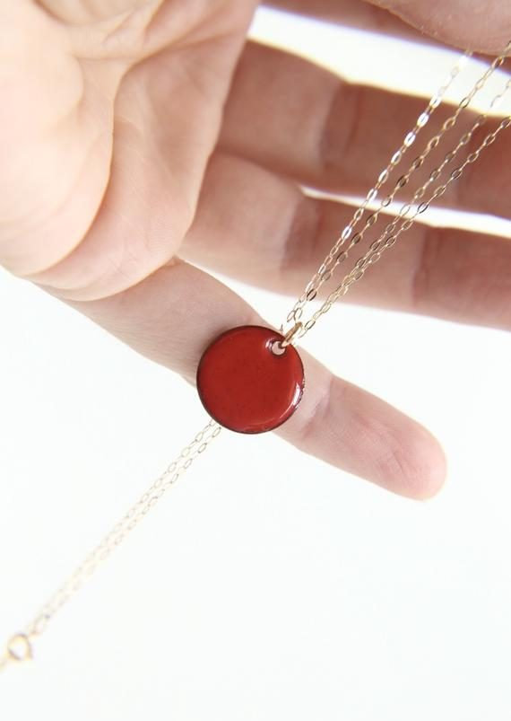 Bright-enamel-necklace-e1589661299129 30 Hottest Jewelry Trends to Follow in 2020