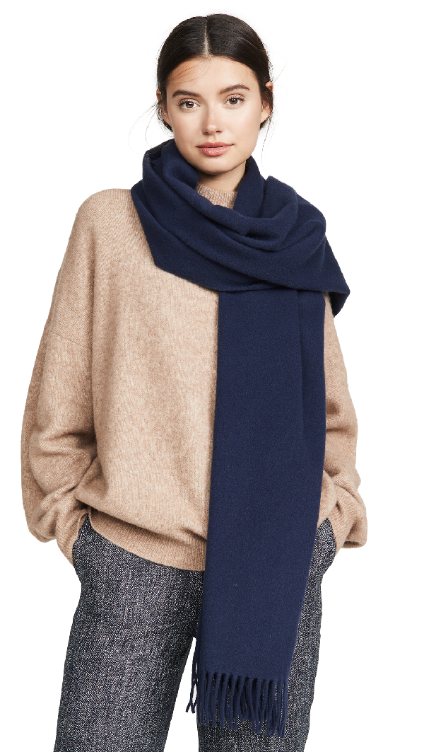Canada-Fringed-Wool-Scarf 10 Most Luxurious Looking Scarf Trends for Women in 2020