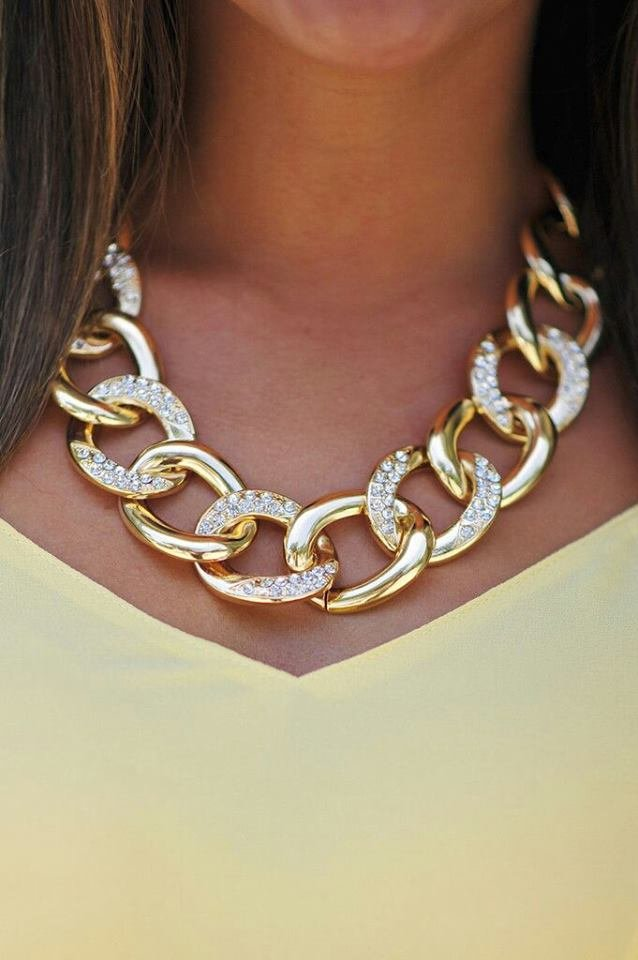Chunky-crystal-chains-necklace-2 +30 Hottest Jewelry Trends to Follow in 2021