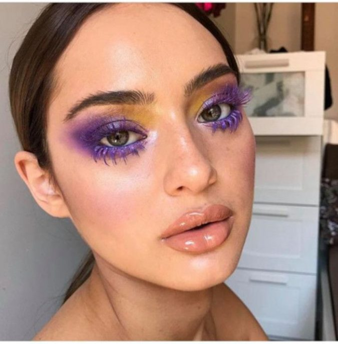 Color-blocking-675x687 15 Most Fabulous Makeup Trends to Be More Gorgeous in 2020