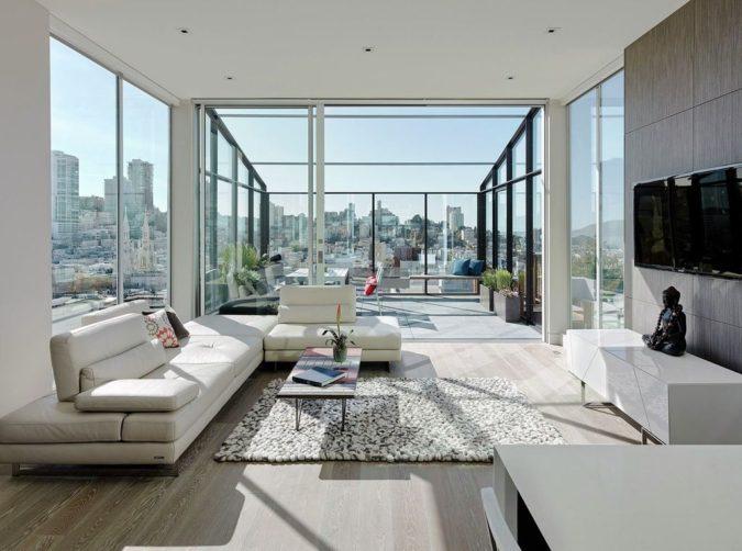 Contemporary-sunroom-675x502 25 Stunning Interior Decorating Ideas for Sunrooms
