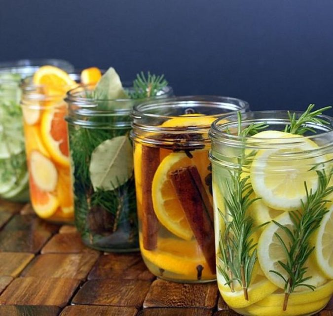DIY-scent-filled-home-jar-675x641 10 Ways to Keep Your Home Smelling Clean and Fresh
