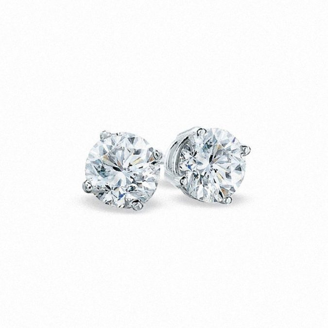 Diamond-solitaire-earrings-1-675x675 30 Hottest Jewelry Trends to Follow in 2020