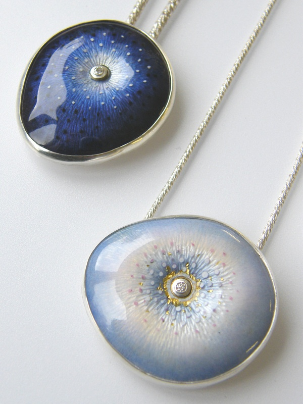 Enamel-jewelry-necklaces +30 Hottest Jewelry Trends to Follow in 2021