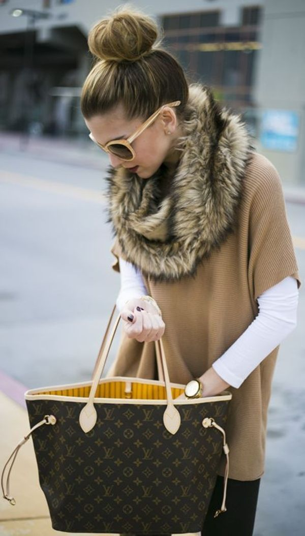 Fur-scarves-1 10 Most Luxurious Looking Scarf Trends for Women in 2021