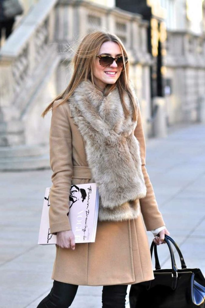 Fur-scarves..-675x1016 10 Most Luxurious Looking Scarf Trends for Women in 2020
