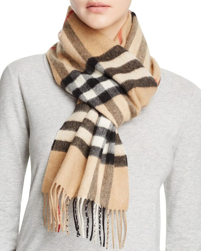 Giant-Check-Cashmere-Scarf-675x844 10 Most Luxurious Looking Scarf Trends for Women in 2020