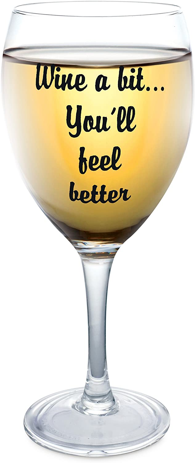 Hilarious-Wine-Glass 25 Best Employee Gifts Ideas They Will Actually Need