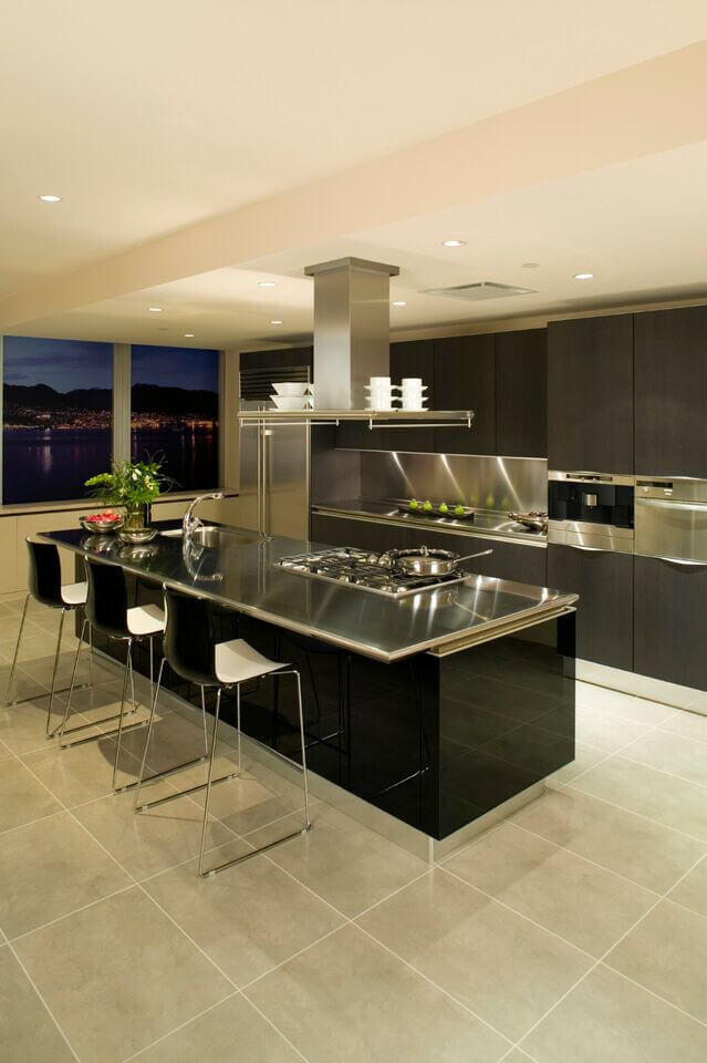 Island-Stove-kitchen Choosing Best Stove for Your Home