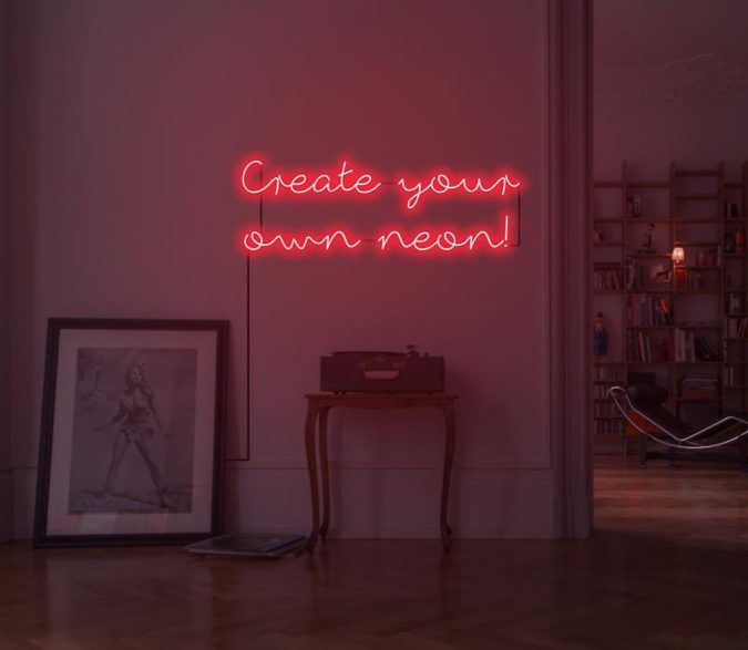 Neon-Sign-Home-Decor-675x587 8 Trendy Hallway Decor Ideas to Revamp Your Home