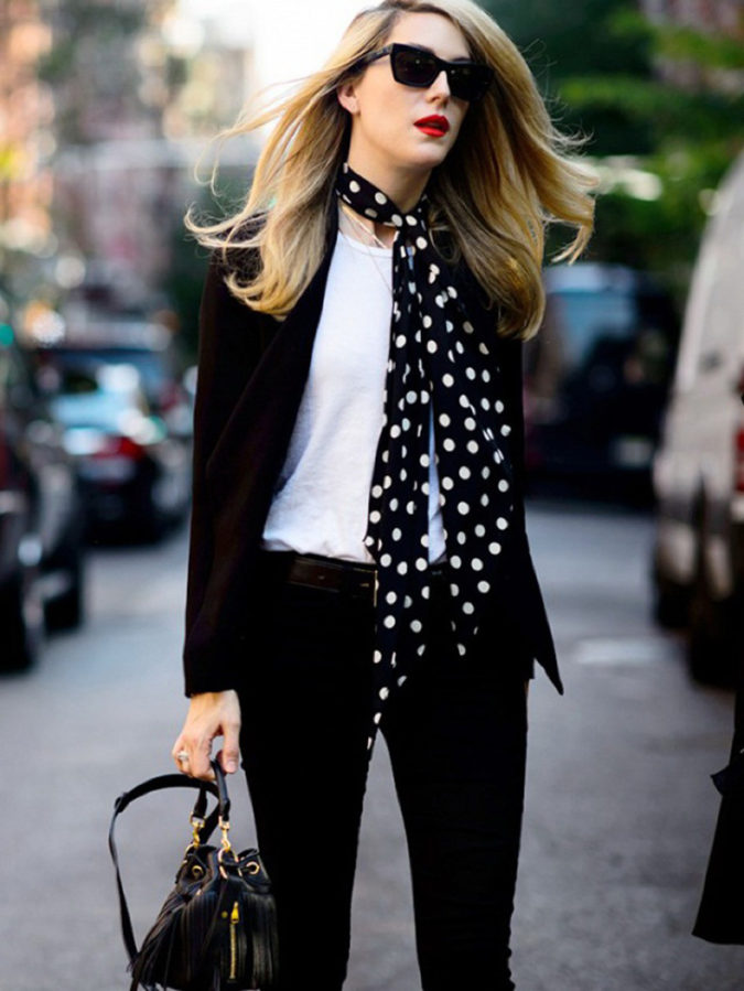 Skinny-scarves-2-675x899 10 Most Luxurious Looking Scarf Trends for Women in 2020