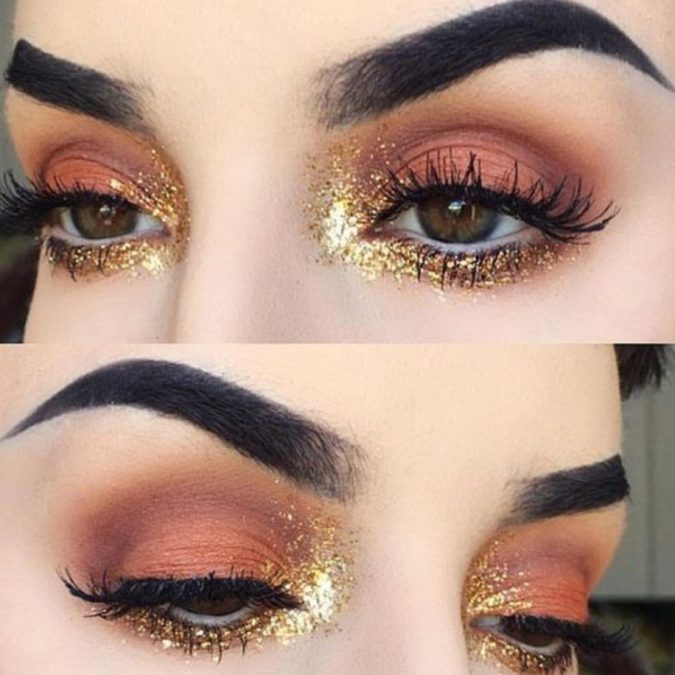 Sparkly-Eyes-675x675 15 Most Fabulous Makeup Trends to Be More Gorgeous in 2020