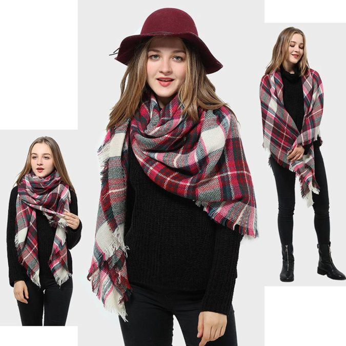 Tartan-Scarf.-675x675 10 Most Luxurious Looking Scarf Trends for Women in 2020