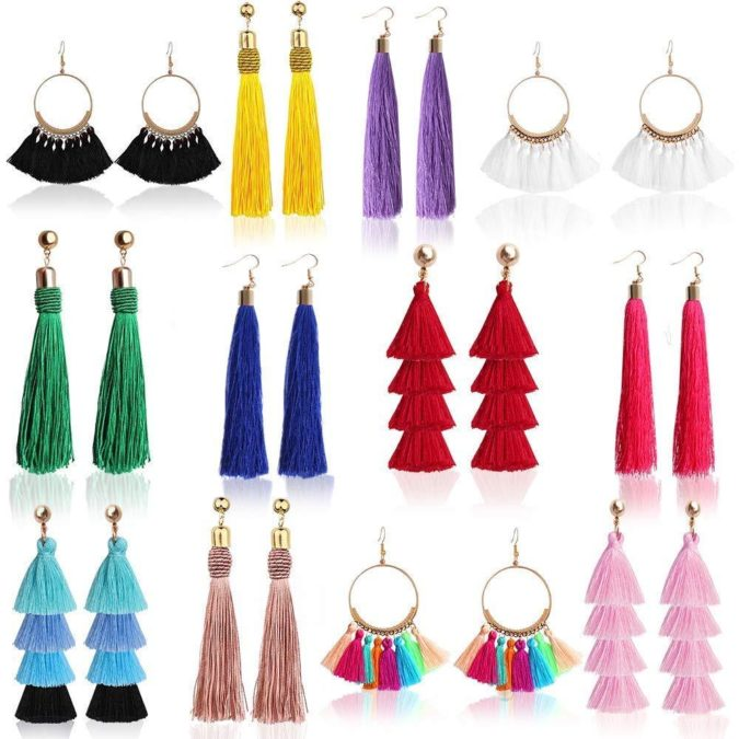 Tassel-earrings-jewelry-675x675 +30 Hottest Jewelry Trends to Follow in 2021