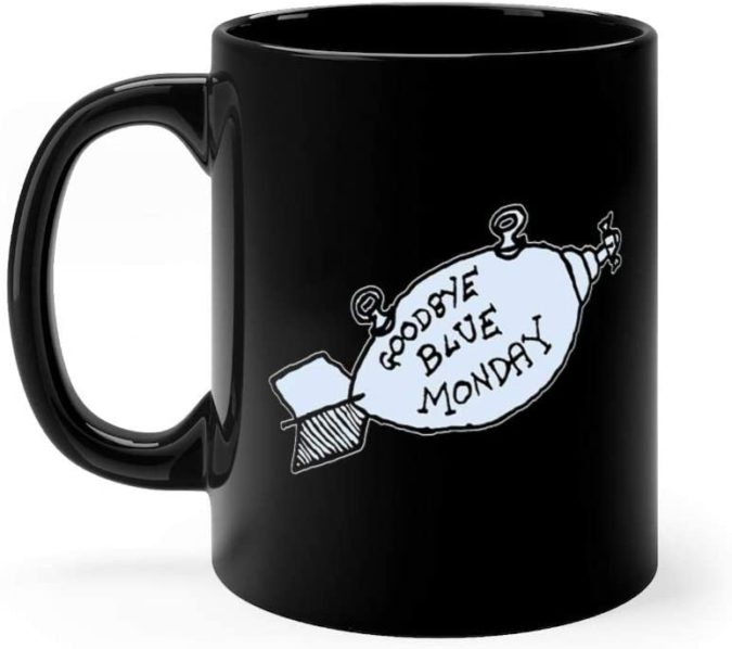 blue-Monday-Mug-675x598 25 Best Employee Gifts Ideas They Will Actually Need