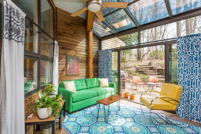 boho-home-decor-unusual-sunroom-675x450 25 Stunning Interior Decorating Ideas for Sunrooms