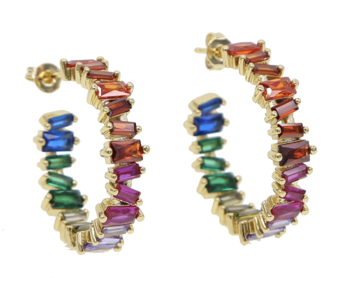 colorful-jewelry-earrings-675x562 +30 Hottest Jewelry Trends to Follow in 2021