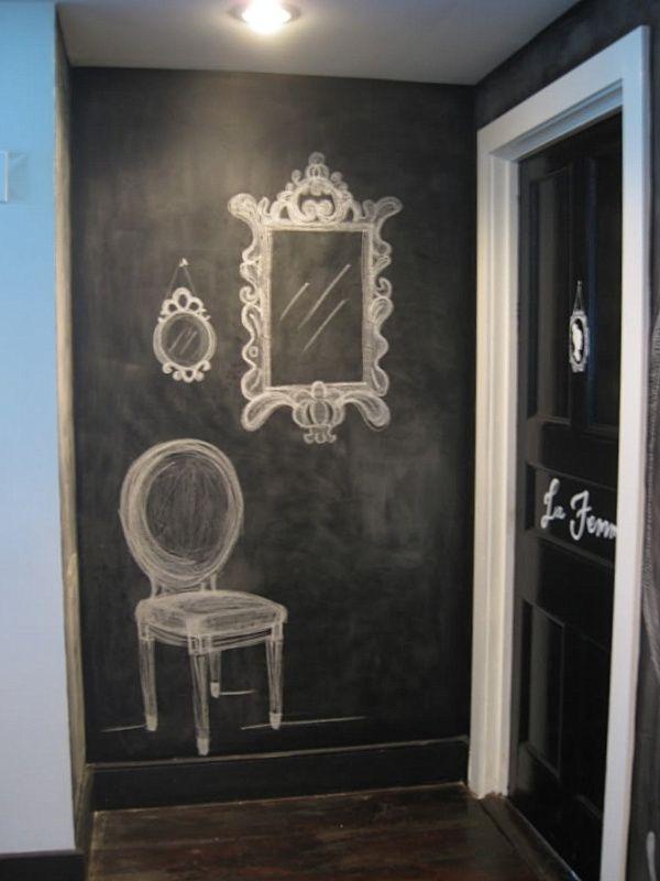 hallway-decor-Chalkboard-paint 8 Trendy Hallway Decor Ideas to Revamp Your Home