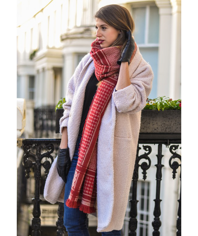 heavy-wool-scarf 10 Most Luxurious Looking Scarf Trends for Women in 2021