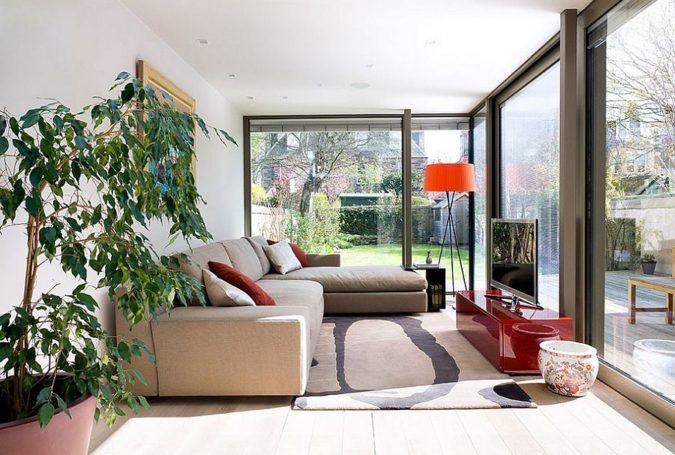 home-decor-entertainment-sunroom-675x455 25 Stunning Interior Decorating Ideas for Sunrooms