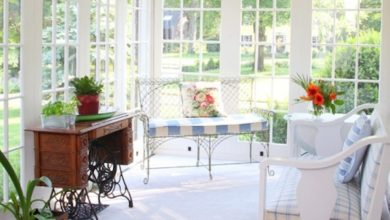 home-decor-sunroom-3-390x220 15 Interior Design Tips & Ideas for Narrow Small Spaces