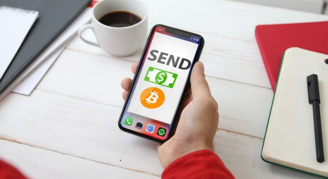 mobile-Bitcoin-money-transfer-675x368 Who Needs a Bank Anymore? 10 Ways to Transfer Money Across Borders