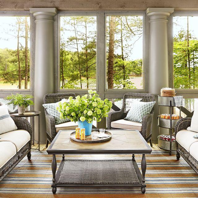 rustic-sunroom 25 Stunning Interior Decorating Ideas for Sunrooms
