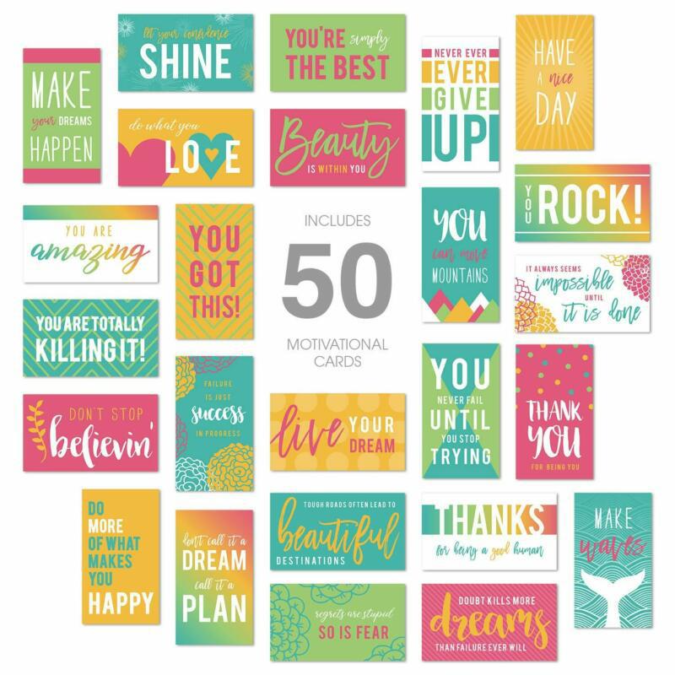 50-Kindness-Cards-2-675x675 10 Motivational Gifts for Friends Who Need a Present