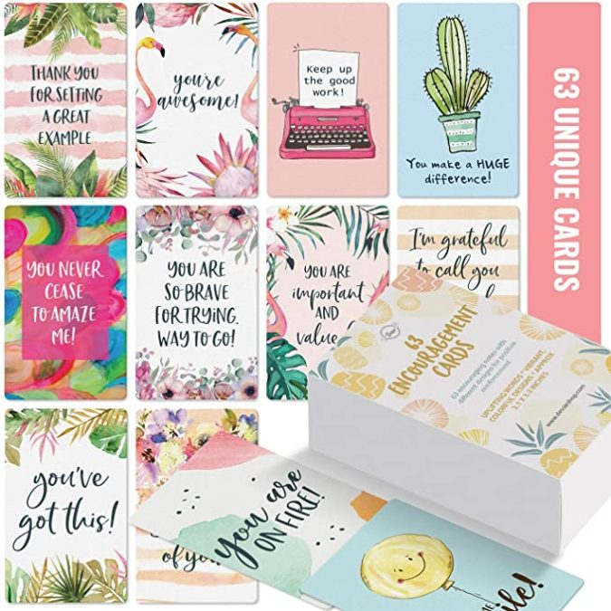 63-Motivational-Cards-675x675 10 Motivational Gifts for Friends Who Need a Present